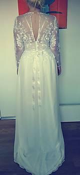 Šaty - Svadobné šaty na mieru_Terezka - 7619426_