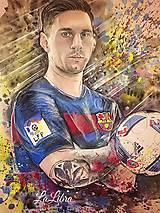Oblečenie - Portrét-Messi - 7620120_