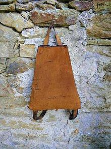 """Batohy - Kožený batoh """"Used Look"""" se skrytým zapínáním - 7619543_"""
