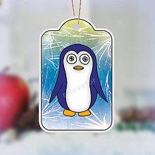 Papiernictvo - Visačky tučniak - 7618936_
