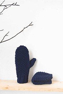 Rukavice - _na ruky... PaLČiaKy... v kráľovskej modrej - 7624385_