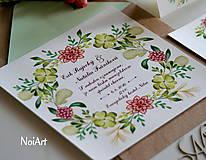 Svadobné oznámenie 5