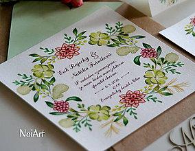Papiernictvo - Svadobné oznámenie 5 - 7621650_
