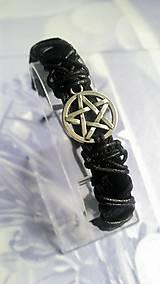Náramky - Ochranný náramok Pentagram - 7621327_