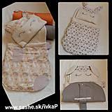 Textil - Spací vak PSÍK s poduškou - nielen na cestovanie - 7623003_