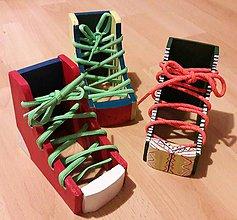 Hračky - Drevená topánočka - 7623584_