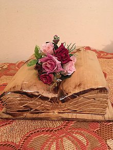 Pierka - Svadobné pierko ružovo-bordové pre ženícha - 7622372_