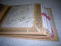 """Papiernictvo - Svadobný fotoalbum """"Marhuľový sen"""" - 7621920_"""
