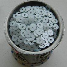 Iný materiál - Flitre hladké svetlé zelenotyrkysové 4mm - 7621899_