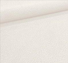 Textil - vodeodolná látka (Flori 1 - biela) - 7622736_