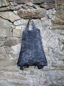 Batohy - Kožený batoh