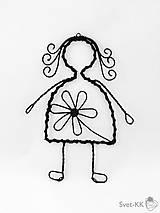Dekorácie - Dievča - 7625422_