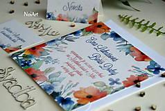 Papiernictvo - Svadobné oznámenie 6 - 7625174_