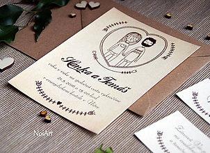Papiernictvo - Svadobné oznámenie 7 - 7627621_