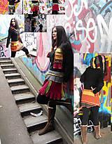 - mini mix sukňa+ šál - 7625490_