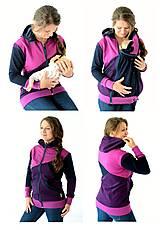 4v1 MIKINA - dojčiacia, tehotenská, nosiacia a normal