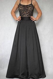c34164dde5fc Sukne - Spoločenská skladaná sukňa s tylovou spodničkou rôzne farby -  7625063