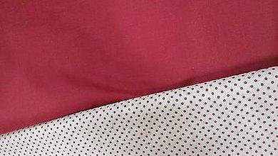 Textil - Vínová jednofarebná bavlna š.150cm - 7626232_