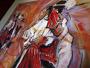 Obrazy - Tancovačka na Zamagurí - 7626740_