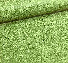 Textil - vodeodolná látka Flori (Flori 11 - zelená) - 7627071_