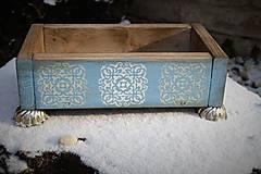 Nábytok - Debnička z ľadového kráľovstva - 7625920_