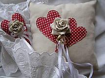 Pierka - ❤ srdiečková svadba ❤ - 7629536_