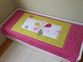 Úžitkový textil - Prehoz Margarétka - 7630358_