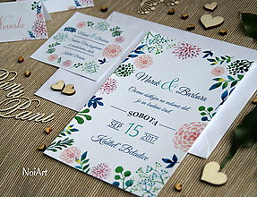 Papiernictvo - Svadobné oznámenie 8 - 7628843_