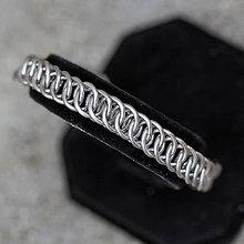 Šperky - Ploštěnec - pánský náramek - 7630049_
