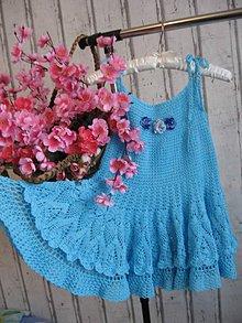 Detské oblečenie - Nežné tyrkysové ... - 7629741_