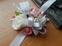 - svadobný náramok pre družičky VI. - 7631976_