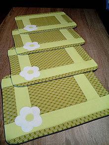 Úžitkový textil - Prestieranie - sada 4 ks AKCIA - VÝPREDAJ - 7628868_