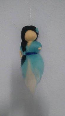 Dekorácie - Modrá víla - 7631505_