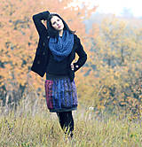 Sukne - Vzor batika - 7631420_