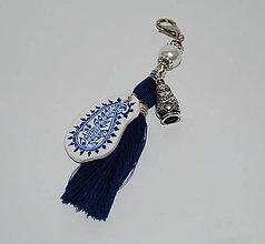 Kľúčenky - folk prívesok na kabelku - 7631734_