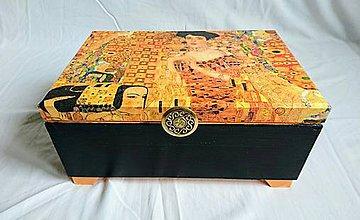 Krabičky - Veľká luxusná šperkovnica + zrkadlo