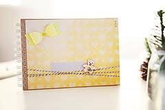 Papiernictvo - Detský fotoalbum - žltý - 7633768_