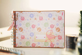Papiernictvo - Detský fotoalbum - ružový - 7633736_