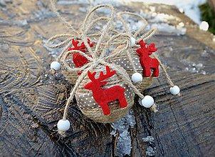 Dekorácie - Vianočná guľôčka - sob - 7634375_