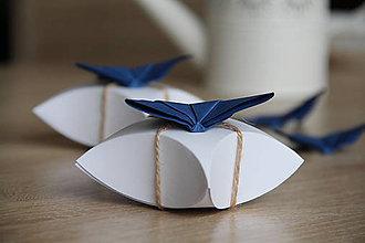 Darčeky pre svadobčanov - darčeková krabička \