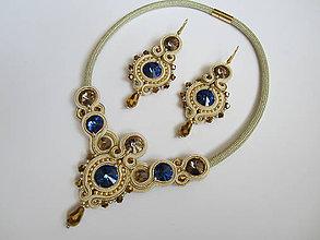 Sady šperkov - Šujtášový set - 7633144_