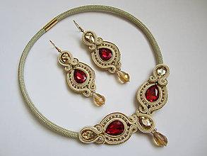 Sady šperkov - Šujtášový set - 7633209_