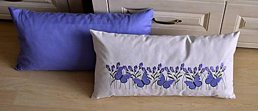 Úžitkový textil - vankúš-fialový - 7633358_