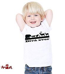 Detské oblečenie - Divá zver - 7634168_