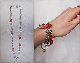 Náhrdelníky - energetický šperk s polodrahokamy - plodnost - 7632244_