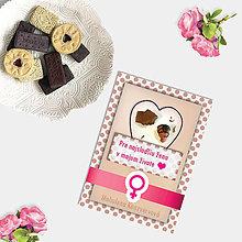 Grafika - Sladká valentínska pohľadnica cukríky pre ňu (7) - 7633376_