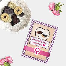 Grafika - Sladká valentínska pohľadnica cukríky pre ňu (12) - 7635062_