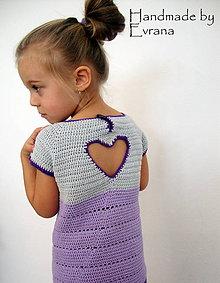 Detské oblečenie - šatky HEART - 7636781_