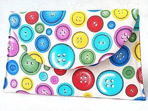 Taštičky - BonBon pochette (buttons) - 7637757_