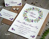 Svadobné oznámenie 9